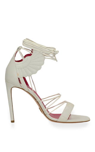 Medium oscar tiye white malace sandal 2