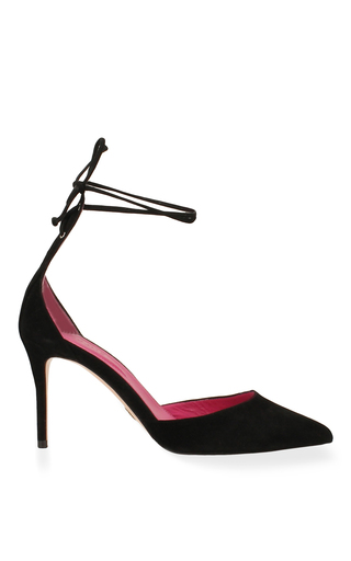 Medium oscar tiye black mirtha pump