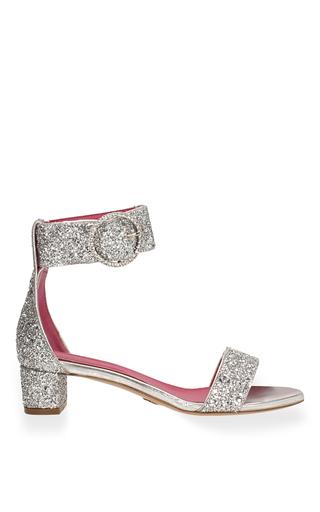 Medium oscar tiye silver erica g sandal