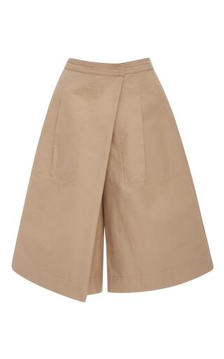 Medium rachel comey tan new wrap bermuda shorts