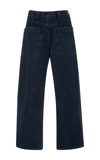 Medium rachel comey dark wash relaxed fit contra jeans