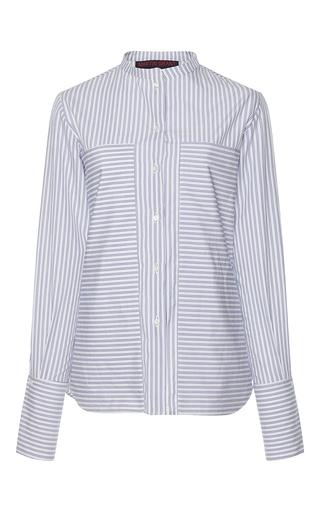 Medium martin grant stripe extra large pocket classic shirt