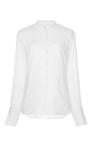 Medium martin grant white extra large pocket cuffed shirt