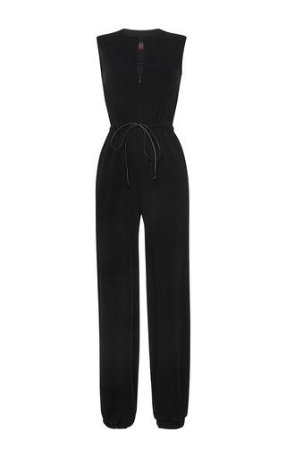 Medium martin grant black drawstring jogging jumpsuit