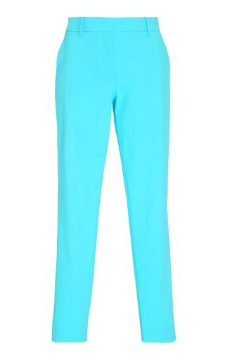 Medium emilio pucci turquoise crepe straight leg pants