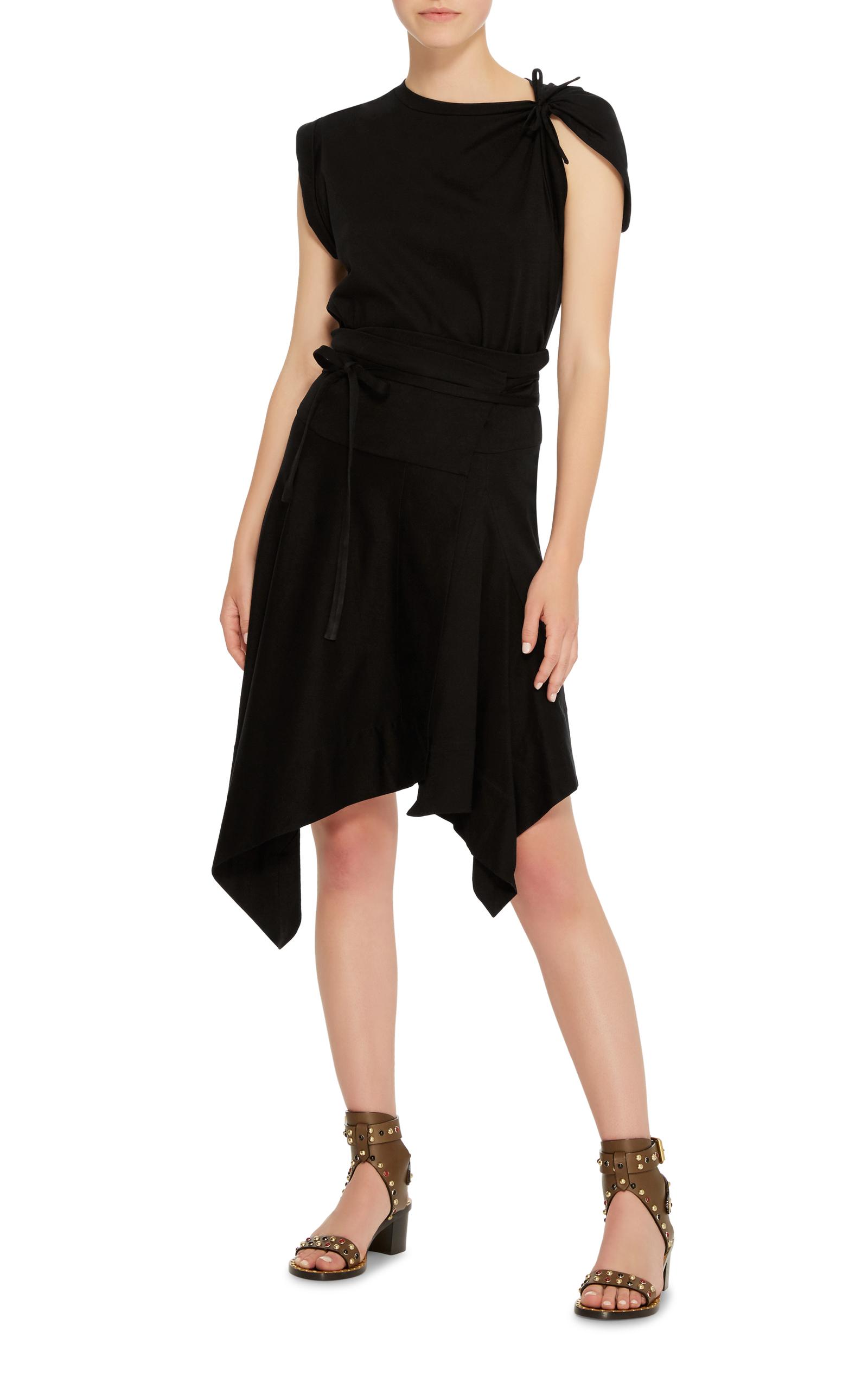 ISABEL MARANT Loko Cotton Jersey Wrap Dress