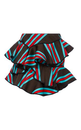Medium cynthia rowley multi multi ruffle mini skirt