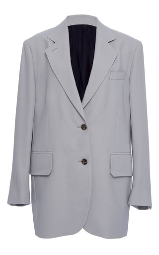 Medium band of outsiders light grey alaya single breasted blazer
