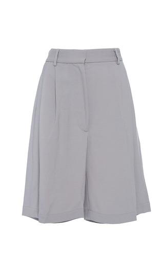 Medium band of outsiders light grey petersburg chino shorts