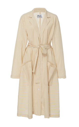 Medium band of outsiders tan kaspar coat dress