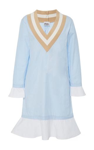 Medium band of outsiders blue kentucky wimbledon dress