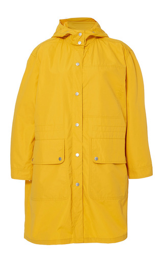 Medium band of outsiders yellow jacksonville rain parka