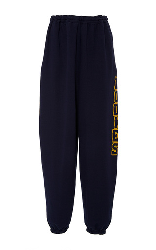 Medium band of outsiders blue palto bis baggy sweatpants