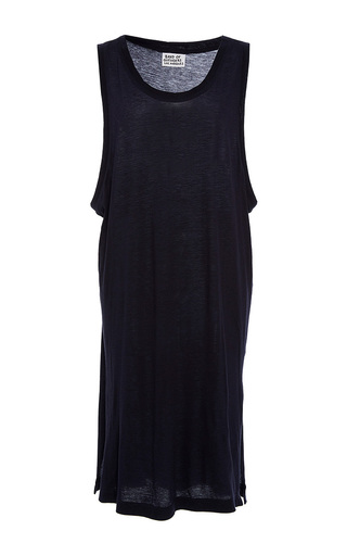 Medium band of outsiders black trybecka sleeveless jersey dress