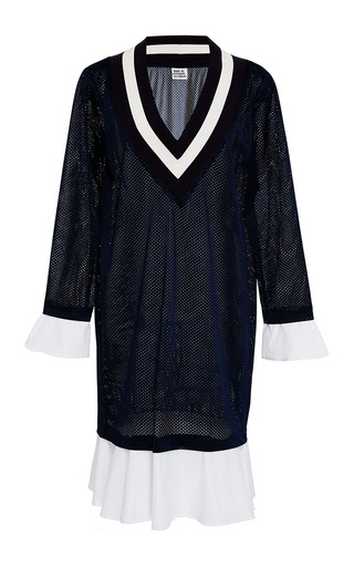 Medium band of outsiders navy kentucky wimbledon dress 2