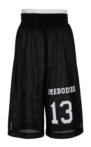Medium band of outsiders black panamara basketball shorts