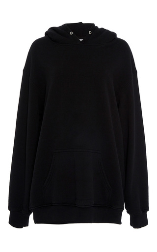 Medium band of outsiders black valerie classic hoodie