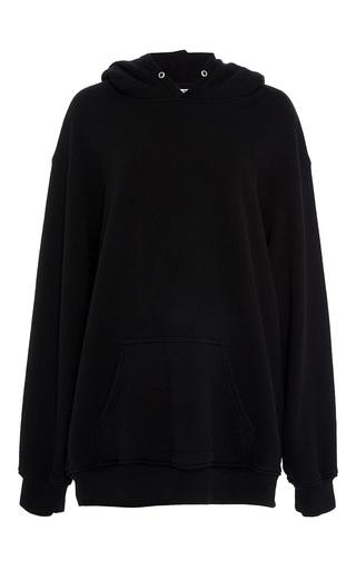Medium band of outsiders black valerie classic hoodie