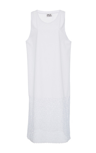 Medium band of outsiders white kanjon tank dress