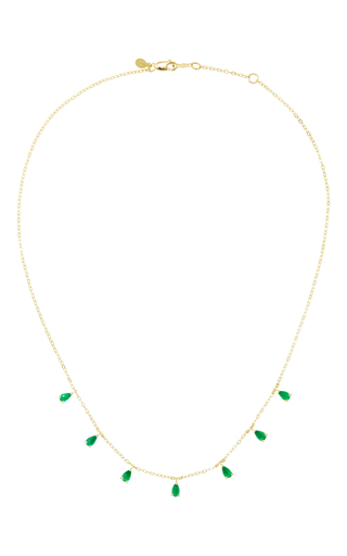 Medium ila collection green anning emerald necklace
