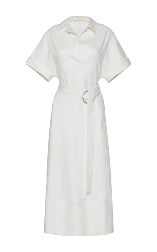 Medium barbara casasola white baiana shirt dress