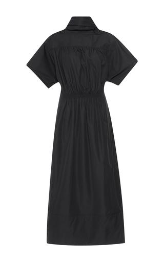 Medium barbara casasola black dry cotton dress