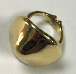 Medium nicholas varney gold gold mushroom ring
