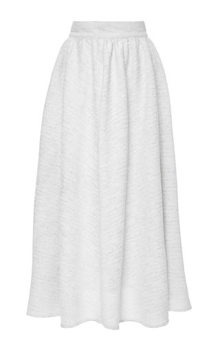 Medium tata naka white high waist a line skirt