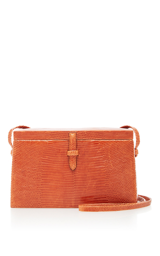 Medium hunting season orange lizard square trunk