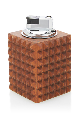 Medium hunting season brown pyramid table lighter
