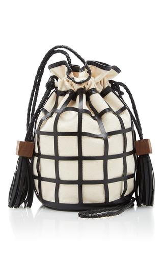 Medium hunting season black tula crossbody bag