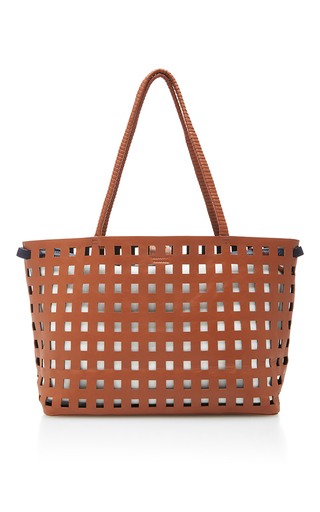 Medium hunting season tan cut out large tote