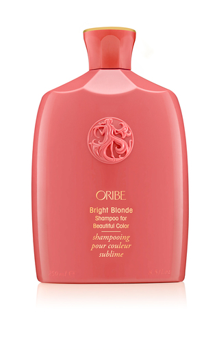 Medium oribe pink bright blonde shampoo