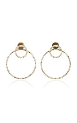 Medium ef collection gold halo ear jackets