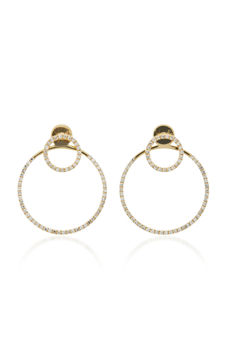 Medium ef collection gold halo ear jackets