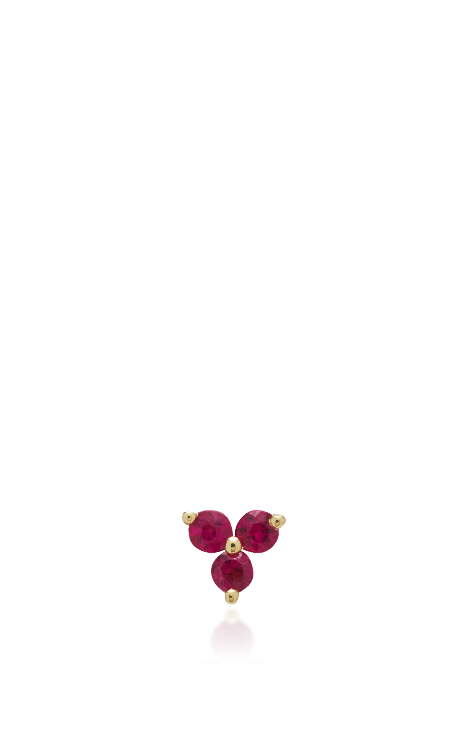 ruby created laura ashley earrings p diamond stud hot
