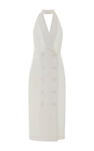 Medium leal daccarett white nicoletta midi dress