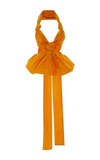 Medium leal daccarett yellow cucu halter top