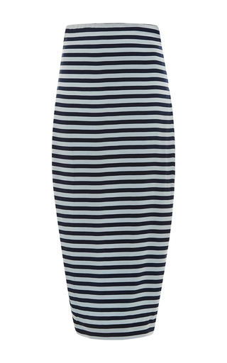 Medium leal daccarett stripe canoa pencil skirt