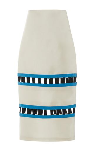 Medium leal daccarett white dunas skirt