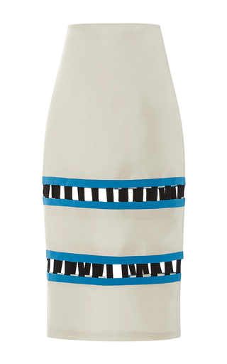 Medium leal daccarett white dunas skirt