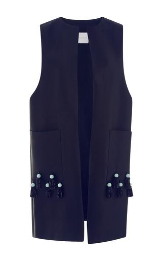 Medium leal daccarett black coqui embellished vest