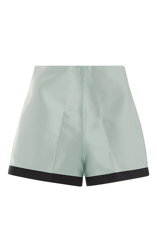 Medium leal daccarett green mamey shorts