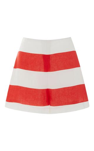 Medium leal daccarett red lorica shorts