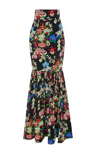 Medium leal daccarett black delicias long skirt