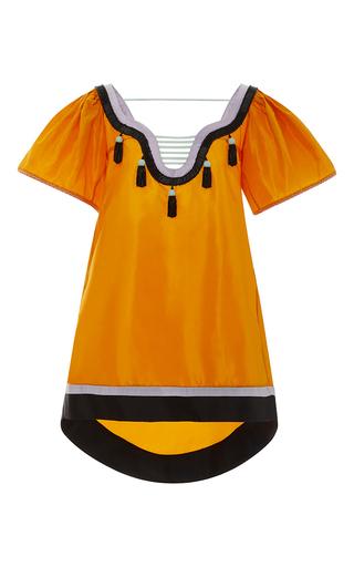 Medium leal daccarett orange milagros mini dress