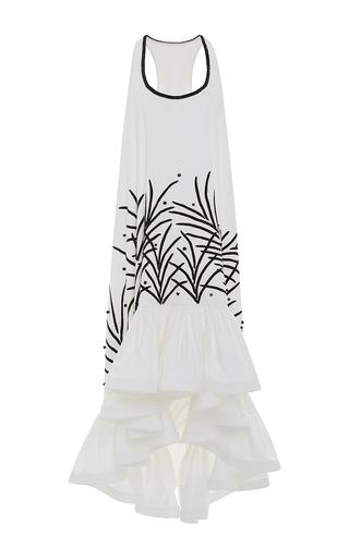 Medium leal daccarett white alegrias maxi dress