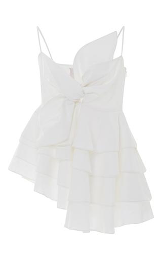 Medium leal daccarett white eden top