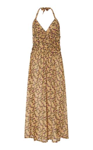 Medium yvonne s print viola floral print cotton voile dress