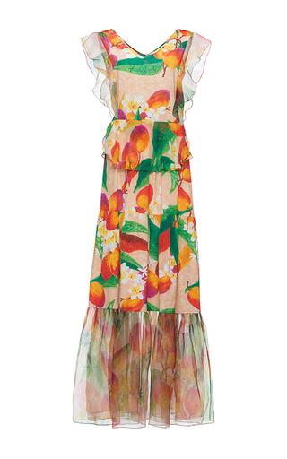Medium isolda print isabel flounce maxi dress